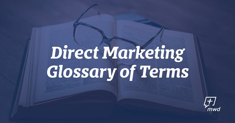 Direct Marketing Glossary of Terms
