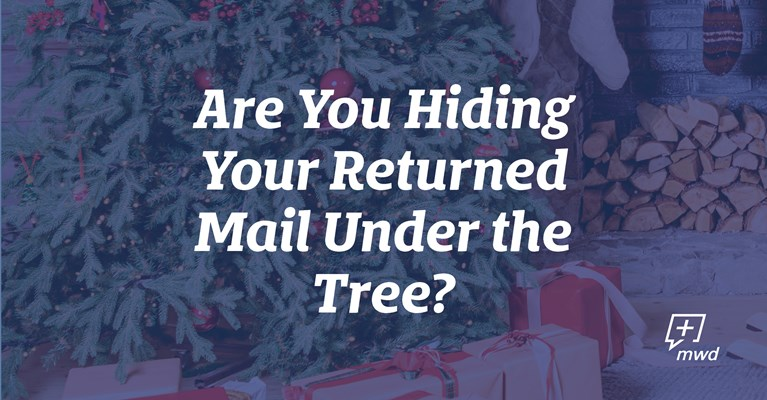 Are You Hiding Your Returned Mail Under the Tree?