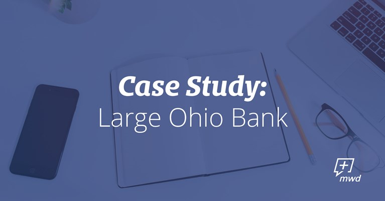 Large Ohio Bank Case Study