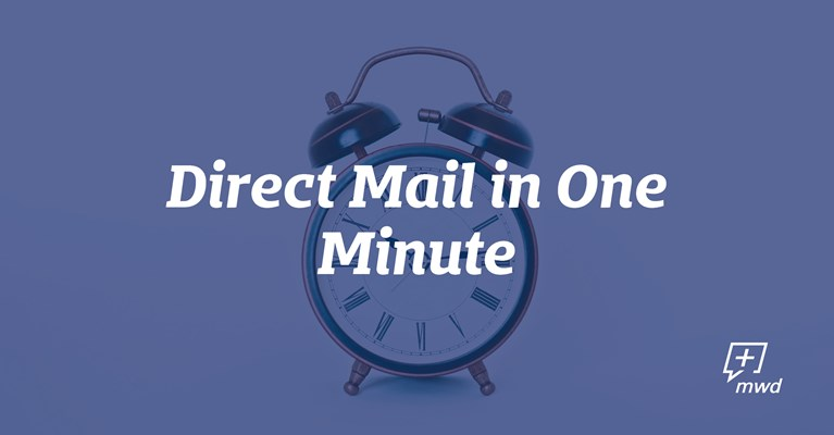 Direct Mail in One Minute
