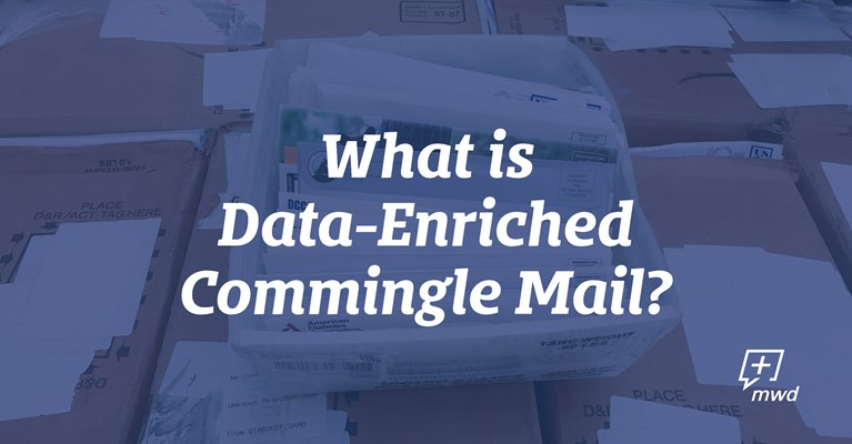 What is Data-Enriched Commingled Mail?