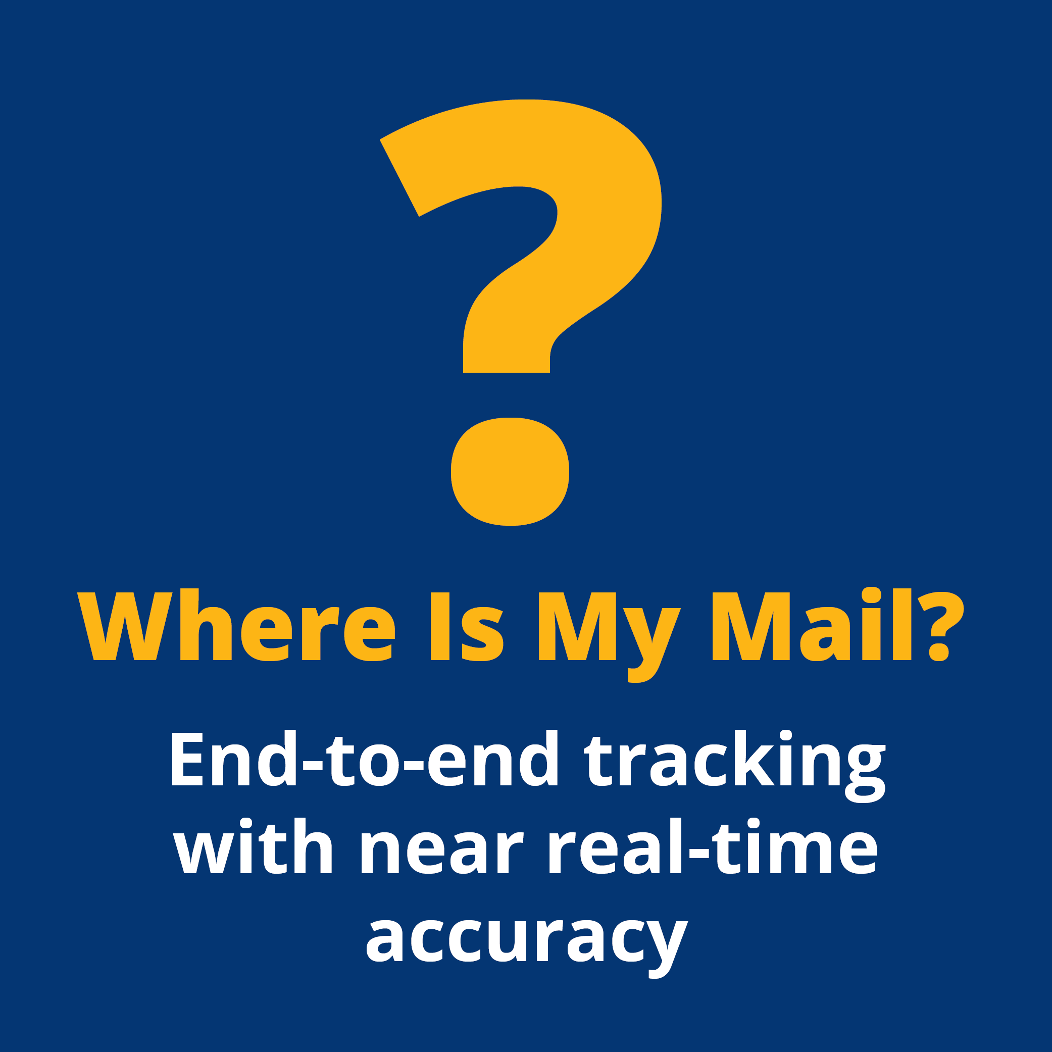 Mail Tracking Infographic