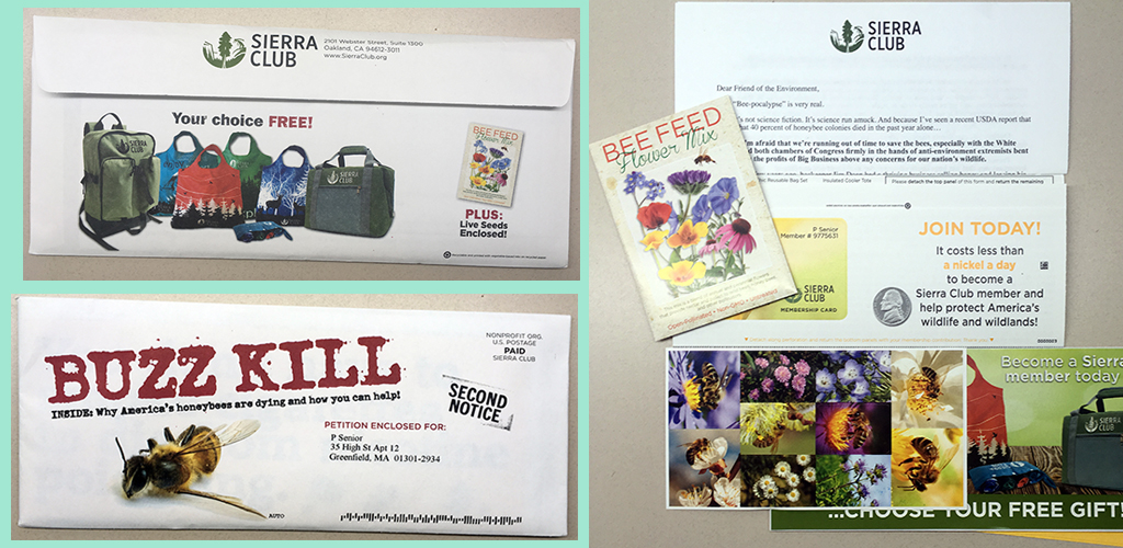 sierra club buzz kill mail piece